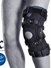 knee orthosis for hyper extension