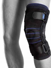 Knee orthosis with metal stays