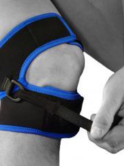 Knee support schlatter