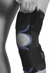 Wrap around knee support
