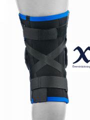 Knee brace hyper extension