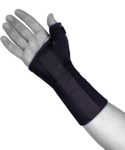 wrist brace with tum support